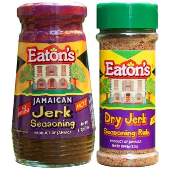 Eaton's Jamaican Jerk Seasoning - 11oz
