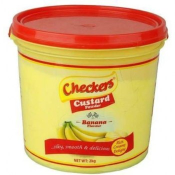 Checkers Custard Banana Flour  2kg.