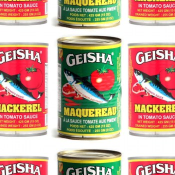 Geisha Mackerel
