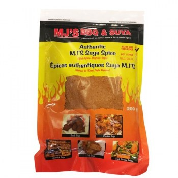 M J BBQ and Suya Spices