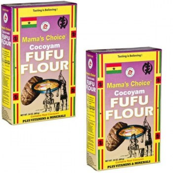 Mama's Choice Cocoyam Fufu - 24oz